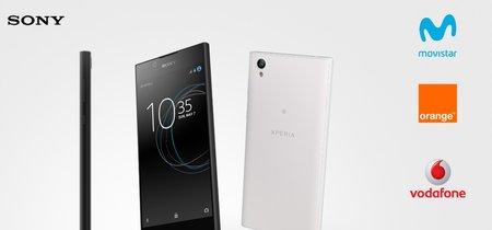 Sony Xperia L1 llega a Movistar, Vodafone, Orange, Yoigo y Simyo: comparamos su precio a plazos