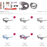 Hasta 70% de descuento en gafas de sol de Spartoo en marcas como Diesel, Calvin Klein, Guess, Lacoste o Vespa