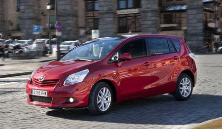 Pequeños cambios para el Toyota Verso