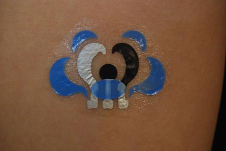 Increíbles monitores de salud en tatuajes temporales