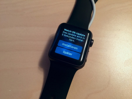 Apple Watch, actualización y carga