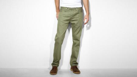 Levis 501 verde