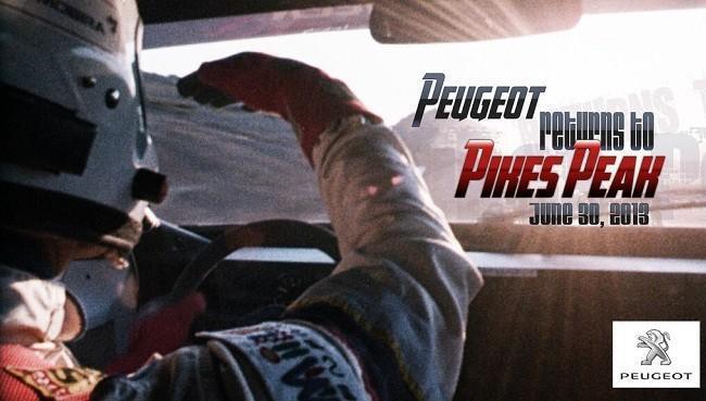 Peugeot Pikes Peak 2013