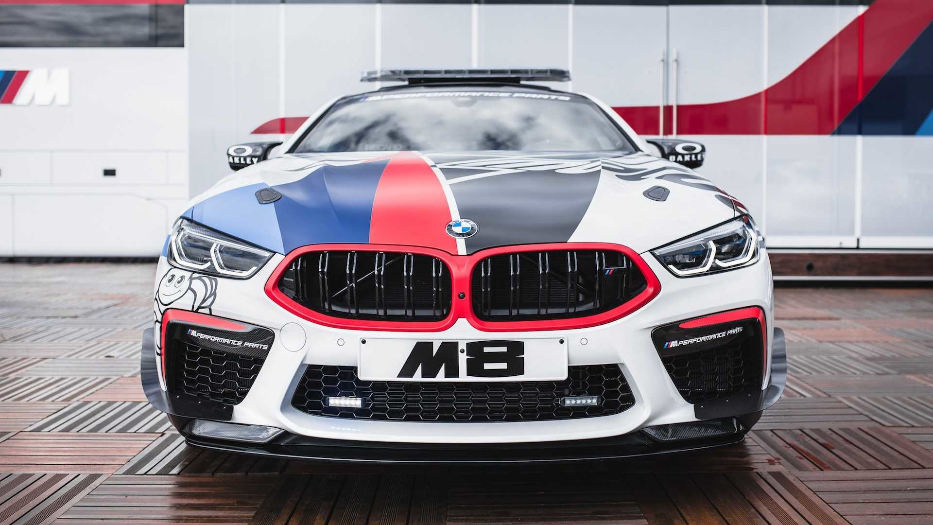 Foto de BMW M8 MotoGP Safety Car (2/8)