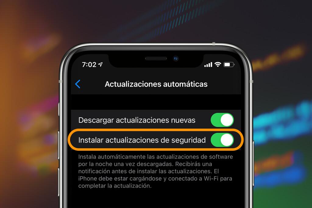 Las actualizaciones de seguridad de iOS™ serán independientes de las actualizaciones del sistema, según la cuarta beta de 14.5