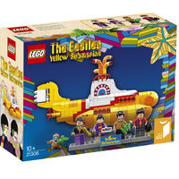 Shut up and take my money! LEGO crea un set de The Beatles y su Yellow Submarine