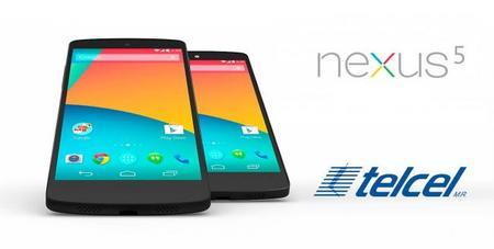 Nexus 5, precios y promociones con Telcel