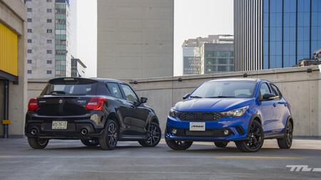 Fiat Argo Vs Suzuki Swift Sport Mexico Comparativa 2