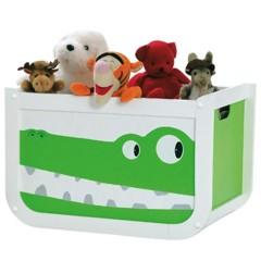 Foto 1 de 4 de la galería divertida-habitacion-infantil-en-blanco-y-verde en Decoesfera