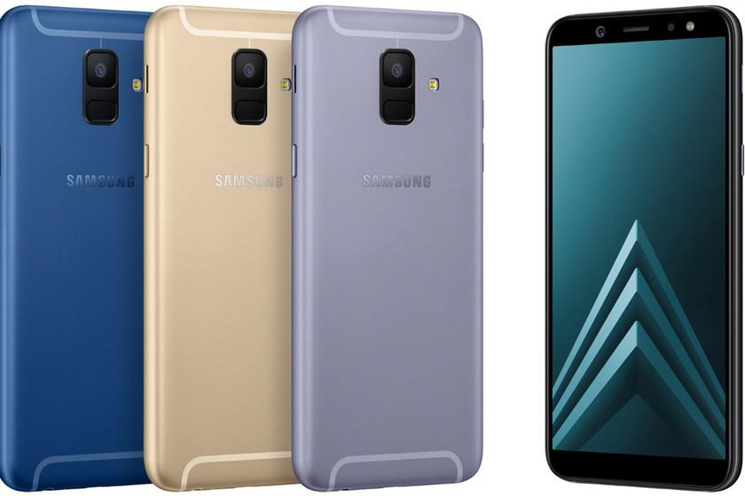 3695efe85b062 Nuevos Galaxy A6 y A6+