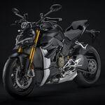 Ducati Streetfighter V4 2021: la sublime naked evoluciona a Euro5, mantiene los 208 CV y se viste de negro