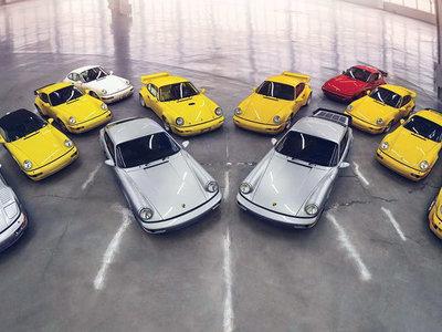 ¡Ponte el babero! Esta impresionante colección de Porsche 911 964 sale a subasta