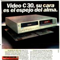 Anuncio vídeo Betamax Sony