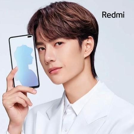 Xiaomi Redmi K30 Diseno Frontal