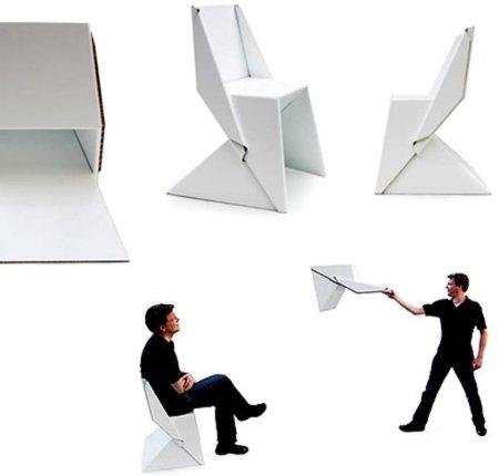 Aquella silla de cartón que nadie ha podido copiar