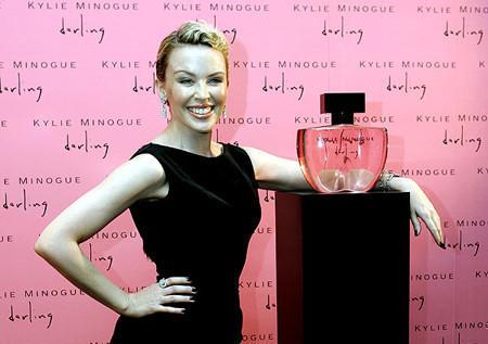 Kylie Minogue ya tiene su perfume