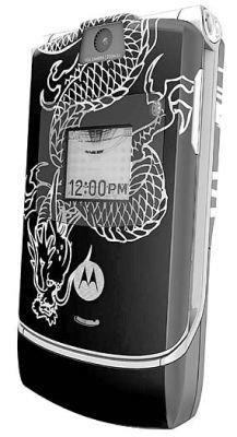 Motorola RAZR tatuado