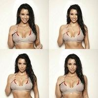Kim Kardashian, tú sí que sabes cómo subir el número de followers: mojada y enseñando pechamen
