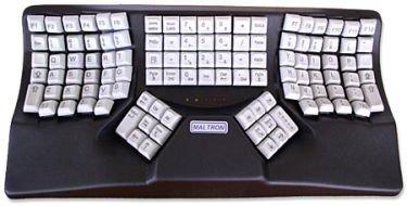 Maltron, adaptando el teclado a tus manos