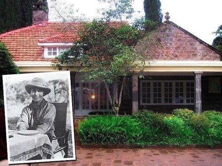 """La casa de """"Memorias de África"""" en Kenia"""