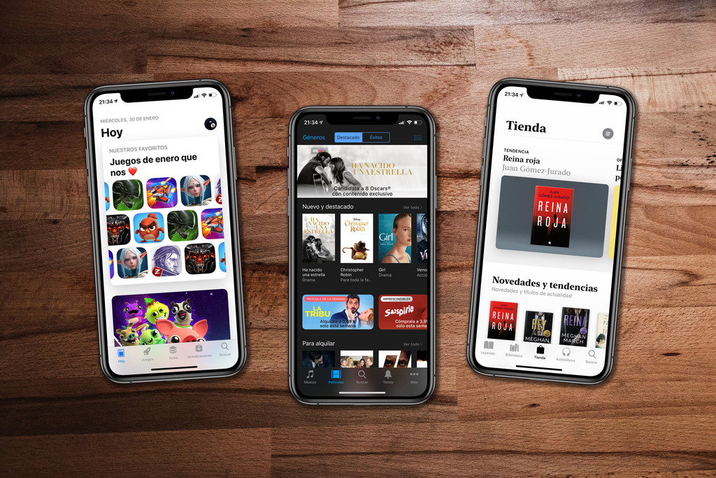 Cómo compartir películas, libros, apps y juegos con los miembros de