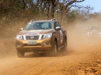 Nissan NP300 Frontier ahora viaja a Brasil para recorrer zonas arqueológicas