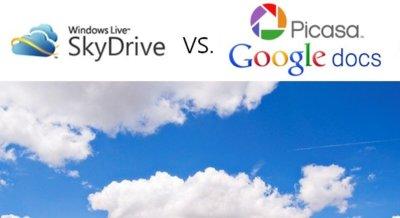 Frente a frente de servicios en la nube: Google Docs/PicasaWeb versus SkyDrive (Parte 2)