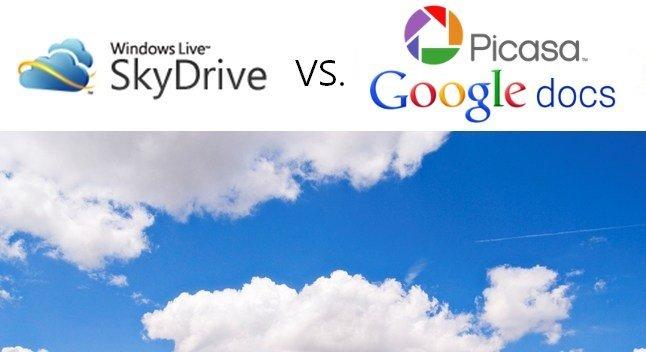 PicasaWeb y Google Docs vs SkyDrive
