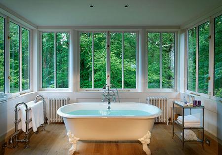 Cuarto de Baño con vistas Lime Wood