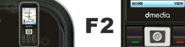 d-media F2, móvil con funciones de GPS
