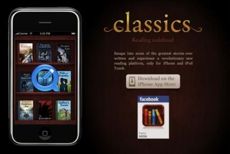 Classic lector de libros electrónicos para el iPhone