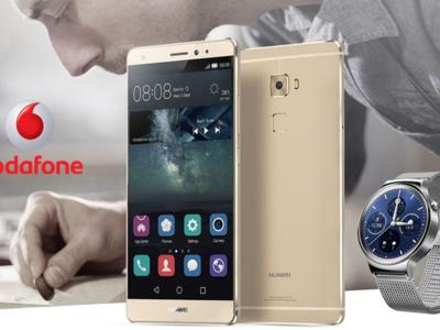 Huawei Mate S en exclusiva con Vodafone y con reloj de regalo