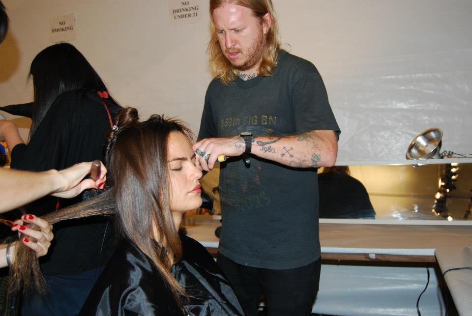 Foto de El backstage de Custo en la NYFW (2/27)