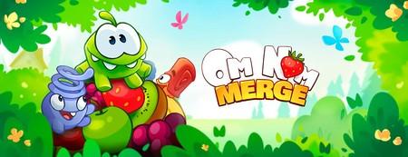 El protagonista de Cut The Rope regresa con un juego de puzles y fusión, Om Nom: Merge