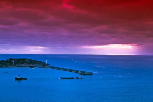 Alba en la costa, por ibzsierra