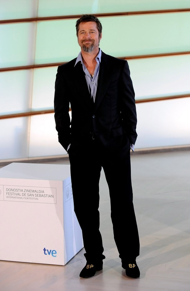 Foto de Brad Pitt en el Festival de Cine de San Sebastián (6/8)