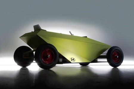 Esta es la primera imagen del Hyundai Soapbox y no sabemos si es un juguete o algo más serio, pero va a llegar a la producción