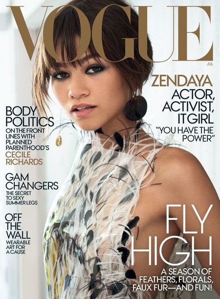 Zendaya Vogue Magazine July 2017 Cover Photoshoot01
