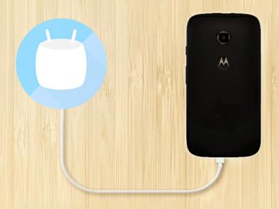 Moto E 2015 empieza a recibir Android 6.0