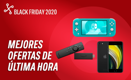 Top 23 ofertas de última hora del Black Friday 2020 de Amazon, eBay, Media Markt, PcComponentes y El Corte Inglés