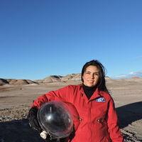 Carmen Félix, una mexicana que soñó con el espacio y hoy es una destacada investigadora espacial