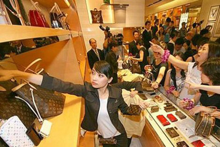 Louis Vuitton en China