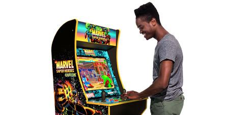 Esta increíble máquina arcade edición limitada de Marvel y Capcom busca aprovechar el éxito de las consolas retro mini