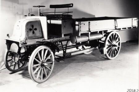 Daimler camión de carga