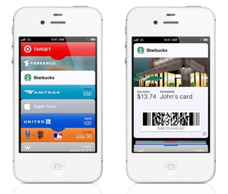 ios 6 apple passbook iphone