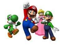 Decoracion Nintendo en el baño