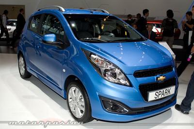 Chevrolet Spark, mínimos cambios en París