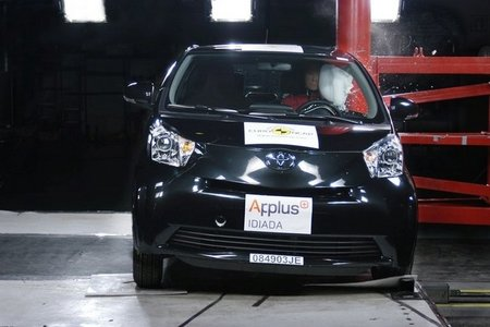 Toyota iQ crash test