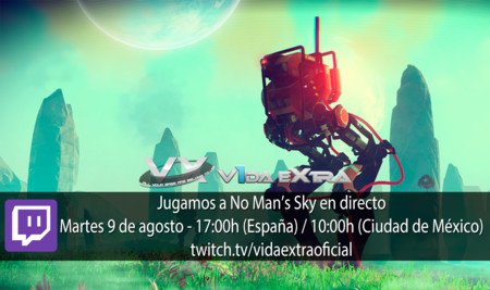 Streaming de No Man's Sky hoy a las 17:00h (las 10:00h en Ciudad de México) [finalizado]