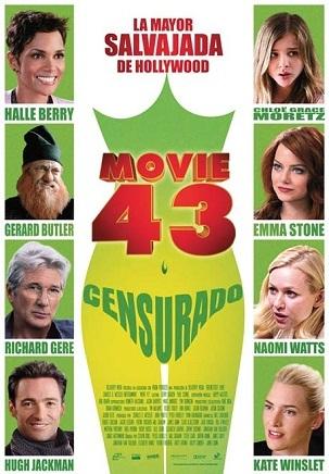 Imagen con el cartel de 'Movie 43'